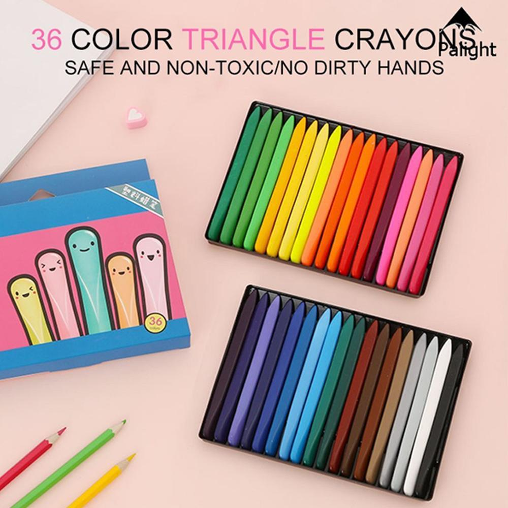 Magic Triangle Crayons