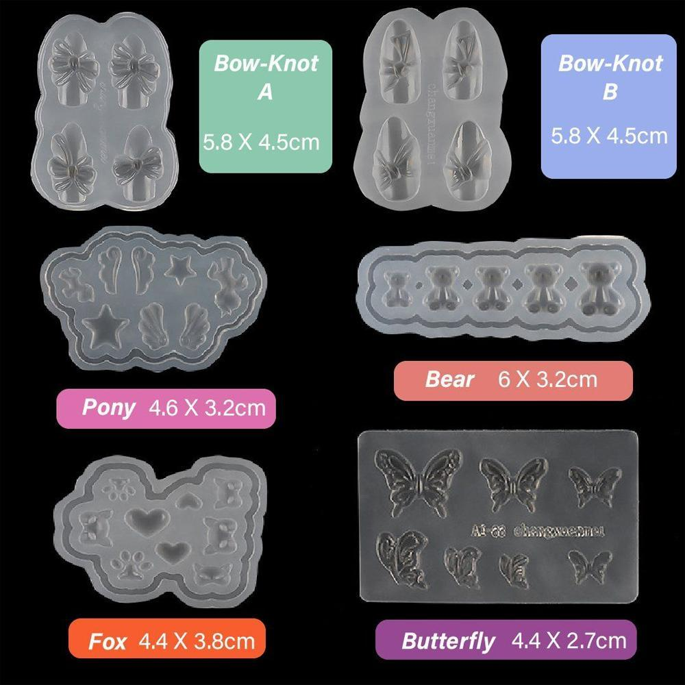 3D Nail Decal Mould
