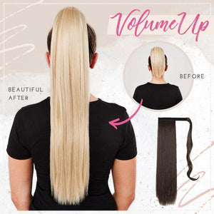 Clip-in Voluminous Ponytail Extension