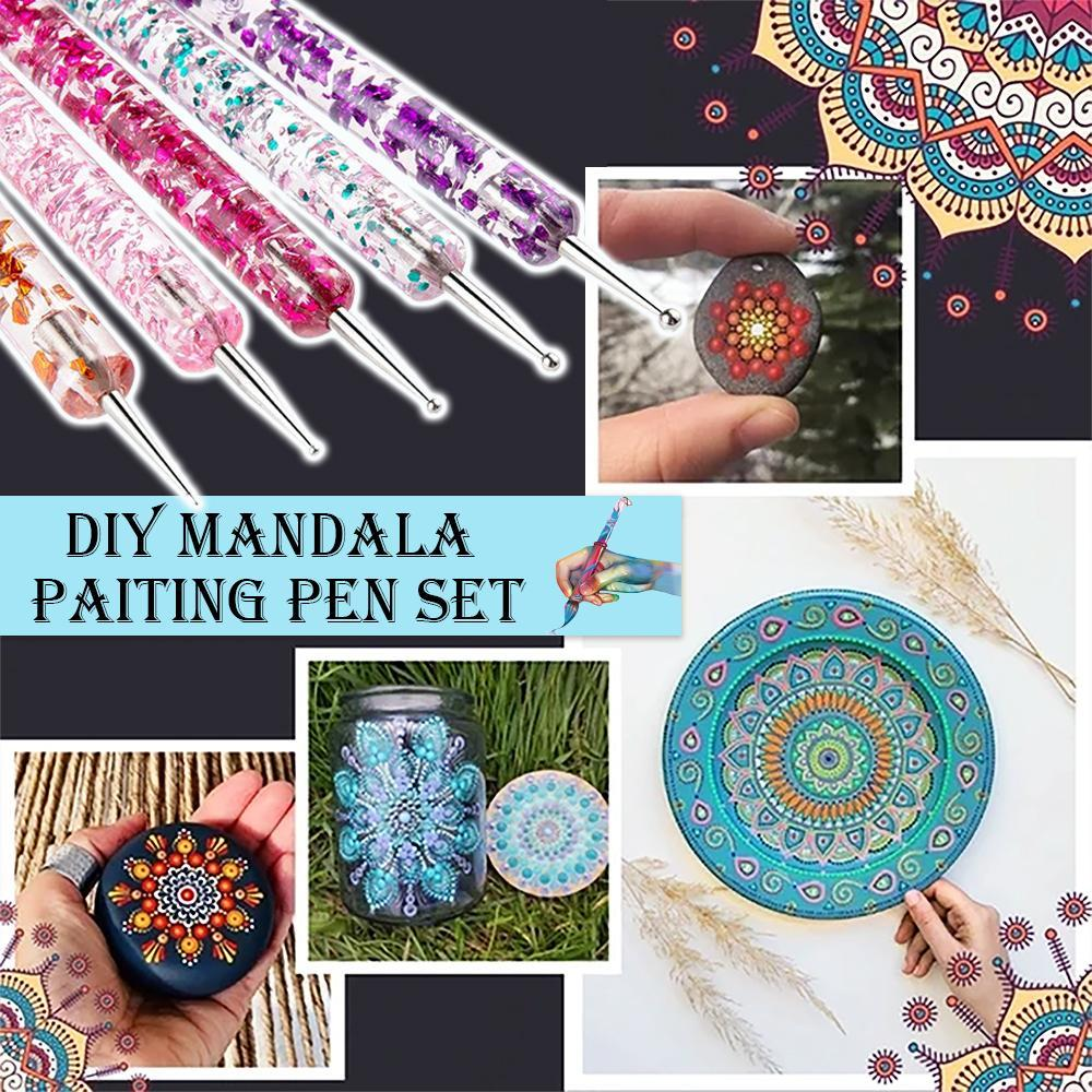 DIY Mandala Painting Pen Set (5 Pcs)