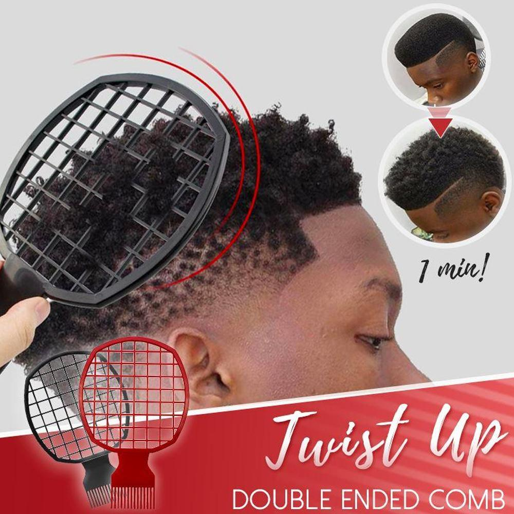 Twist Up Double Ended Comb