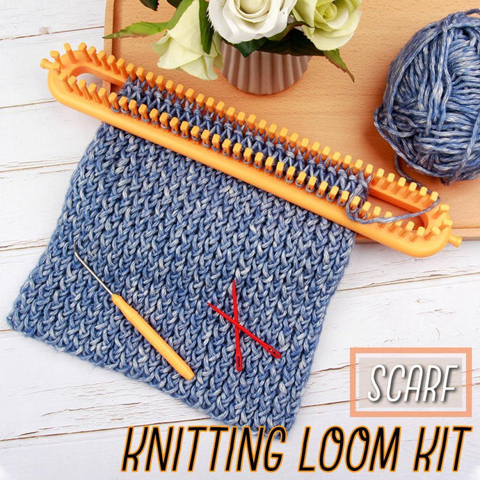 Scarf Knitting Loom Kit