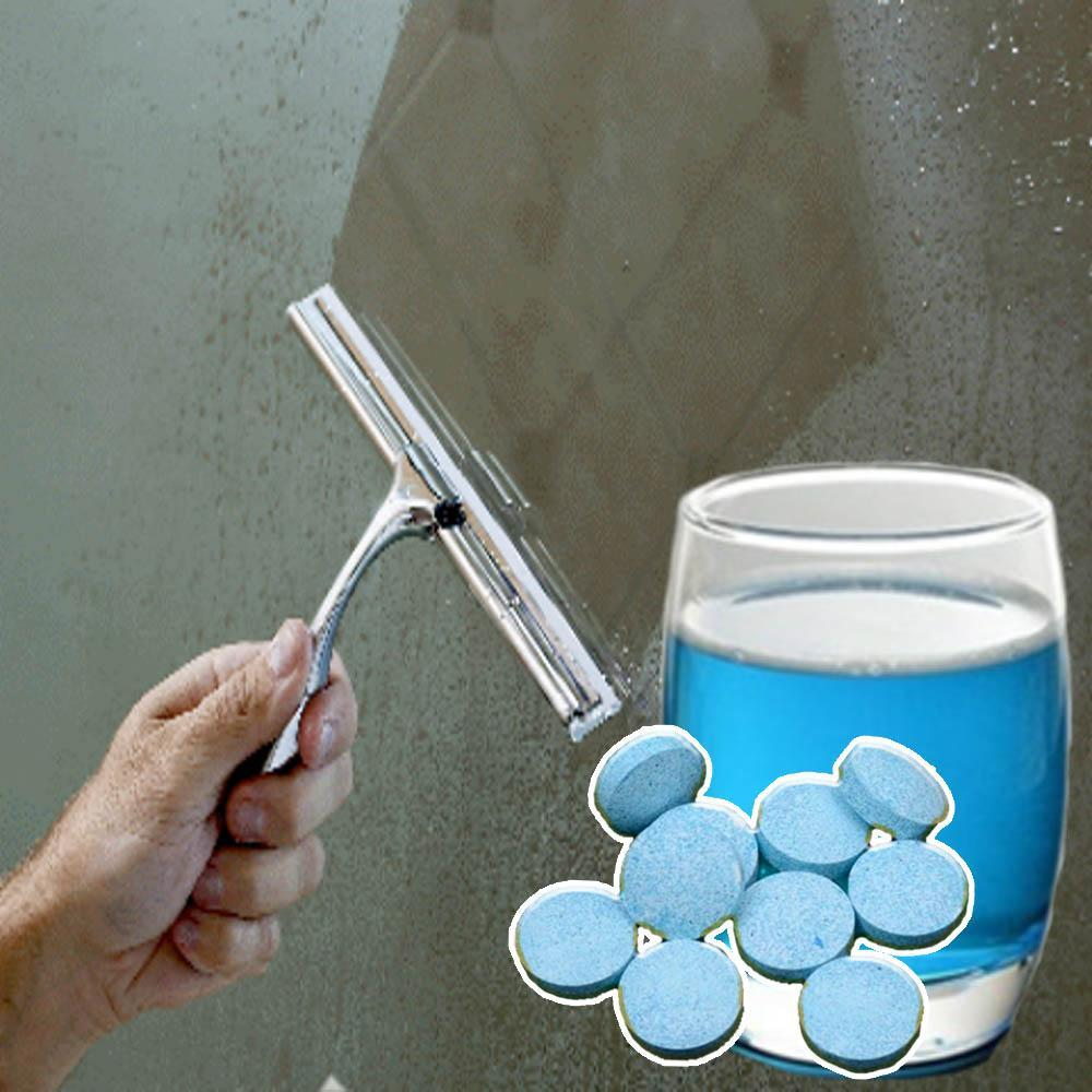 Glass Cleaning Effervescent Tablet