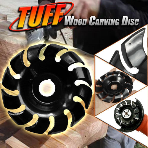 TUFF Wood Carving Disc