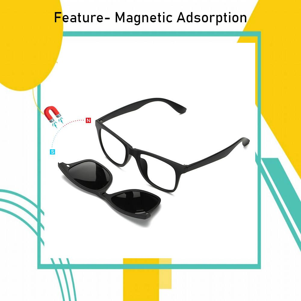Magnetic Polarized Clip-on Glasses