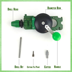 Multifunctional Hand Drill