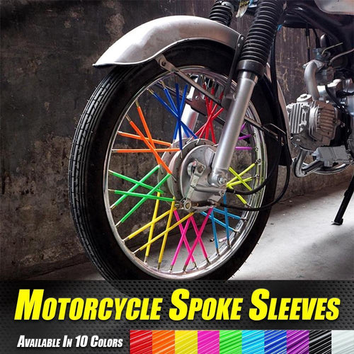 Motorcycle Spoke Sleeves