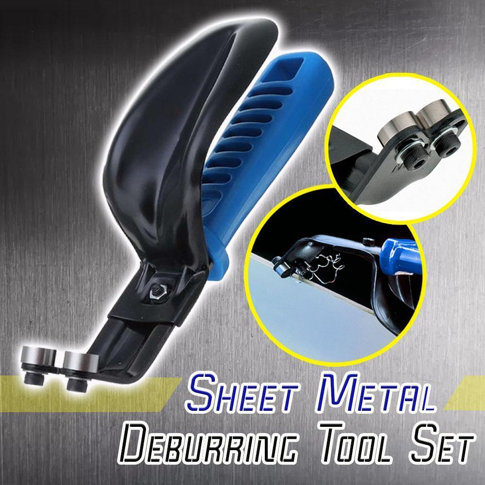 Sheet Metal Deburring Tool Set