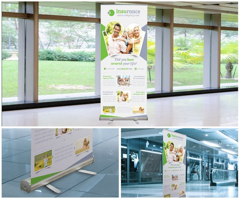 Retractable Banner with Stand - RDDPrint.com Sameday Printing