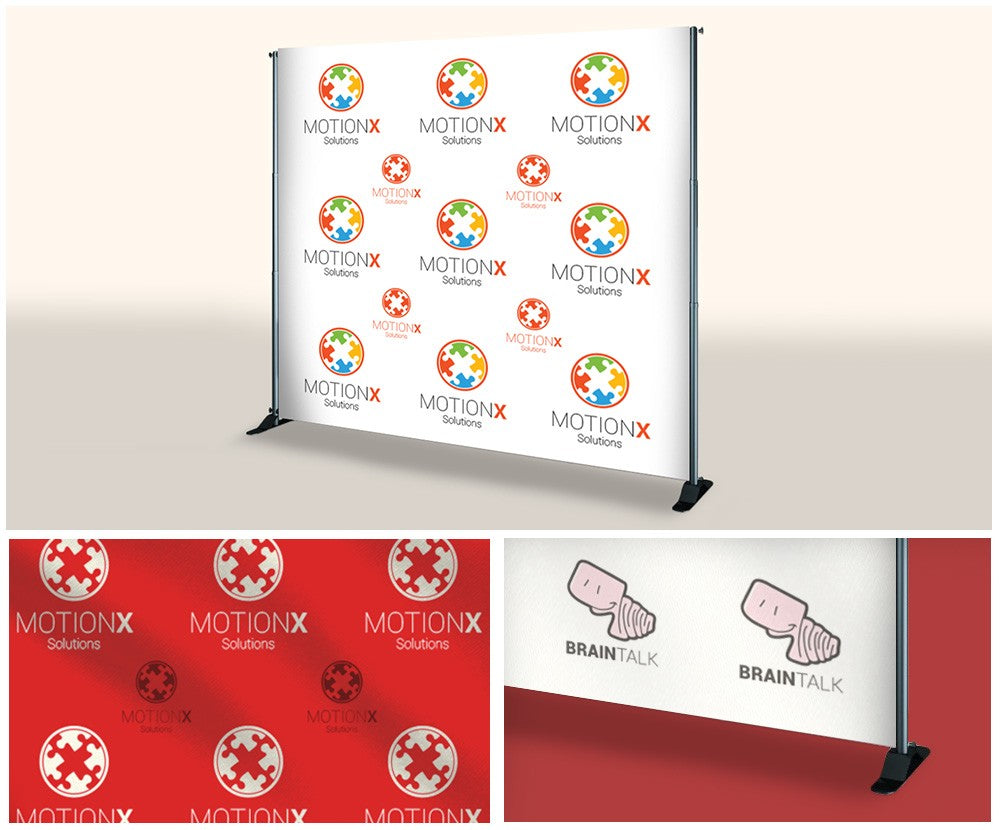 Step & Repeat Banner with Stand - RDDPrint.com Sameday Printing