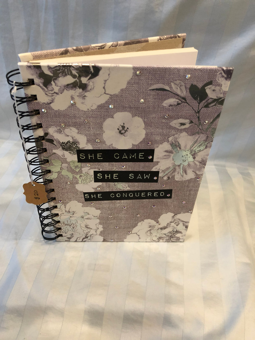 flower background journal