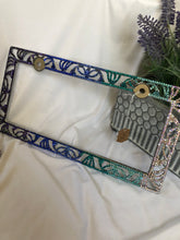 Load image into Gallery viewer, multicolor license plate frame (mermaid colors)