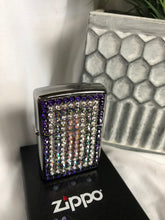 Load image into Gallery viewer, purple pattern zippo refillabe lighter