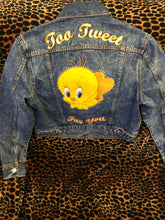 Load image into Gallery viewer, tweety bird Divided H&M jean jacket