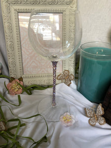 long stem wine glass