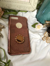 Load image into Gallery viewer, rose gold glitter phone case
