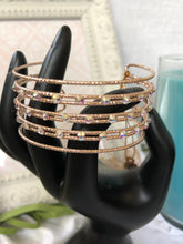 Load image into Gallery viewer, rose gold wide bracelet