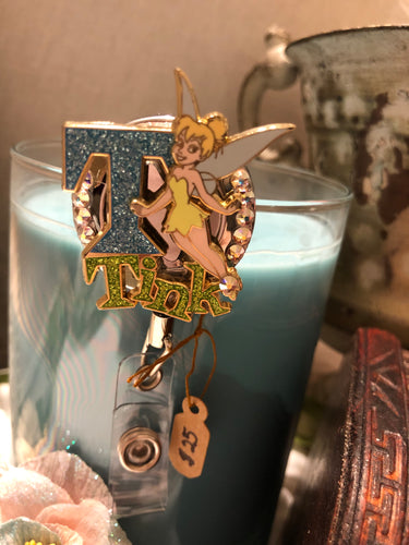 tinkerbell badge holder