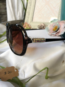sunglasses brown frame