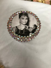 Load image into Gallery viewer, 12 ML plastic twist top container (Audrey Hepburn decal)