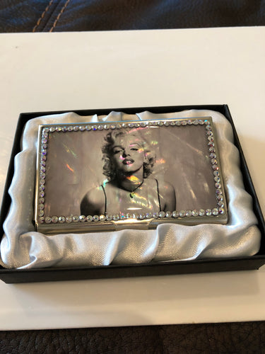 Marilyn Monroe card holder/mirror