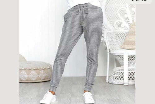 Stripped jogger pants