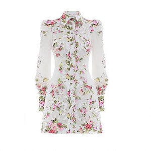 Radiate Applique shirt dress by Zimmermann