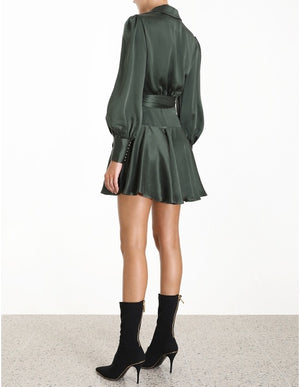 Mini wrap dress by Zimmermann