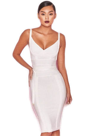 White Belice dress by House Of CB