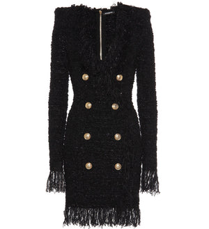 Balmain boucle in black