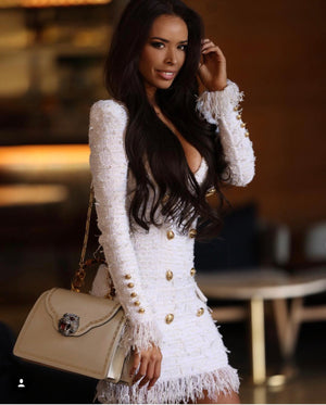 Balmain Boucle Dress