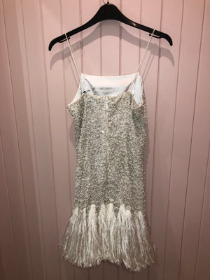 mini beaded dress by aje