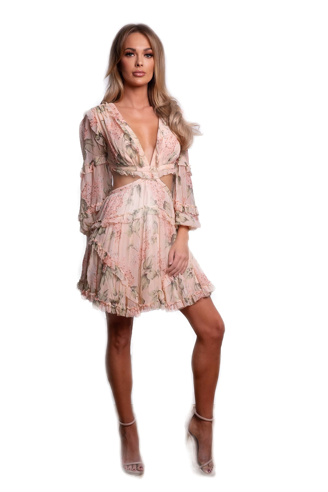 7bb78a55cf85f Prima Floating Cut Out Dress by Zimmermann | Sydney Dress Hire