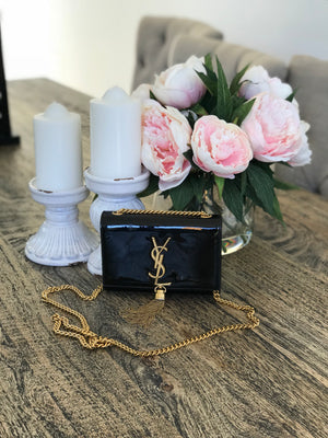 Saint Laurent small with tassle bag