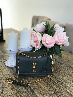Saint Laurent sunset bag