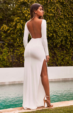 Abyss white dream gown
