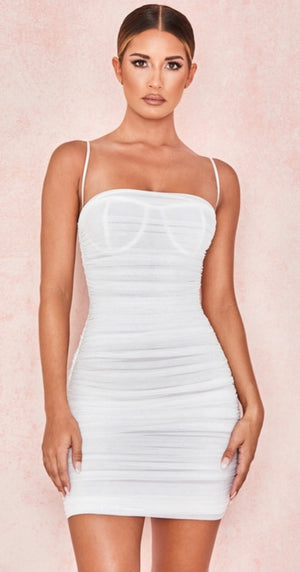 White Ella dress by house of Cb