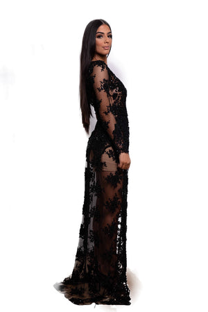 Devior gown by Galanni