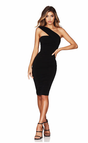Temptation one shoulder midi by Nookie
