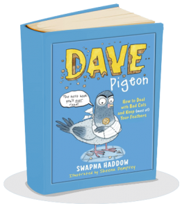 Dave Pigeon – How to deal with bad cats and keep (most of) your feathers