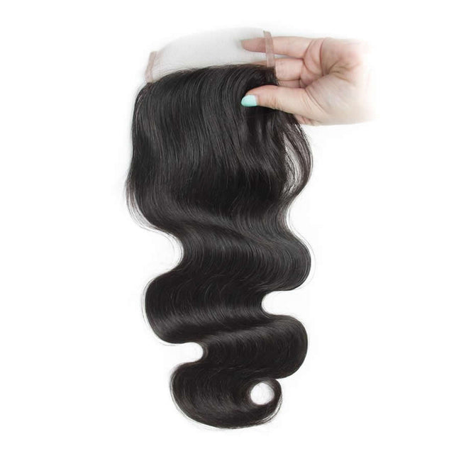 Vbena Malaysian Body Wave Free Part 4x4 Closure With 3 bundles Human Virgin Hair