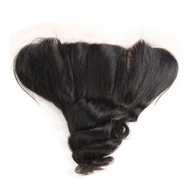 Vbena Loose Wave Lace Frontal Closure 13x4 Ear to Ear Closure 1Bundles
