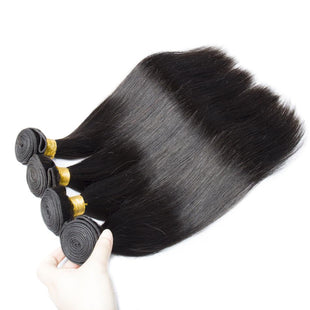 Vbena Straight Virgin Human Hair 4Bundles Weaves 8-30 Inches