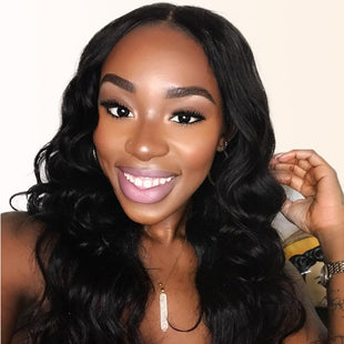 Vbena Peruvian Natural Wave 3Bundles Hair with Lace Closure Bundles Deals
