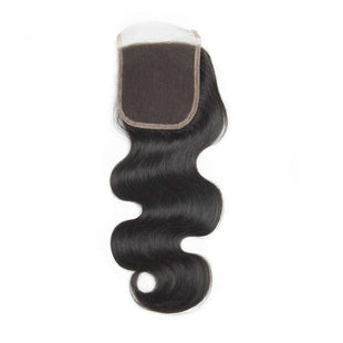 Vbena Peruvian Virgin Body Wave 4Bundles with Lace Closure Remy Human Hair Weave