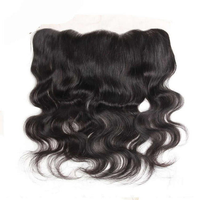 Vbena Body Wave Lace Frontal Closure 1Bundles 13x4 Ear to Ear Lace Closure