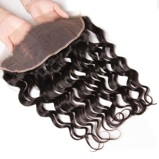 Vbena Brazilian Natural Wave 3Bundles With Lace Frontal Closure Hair