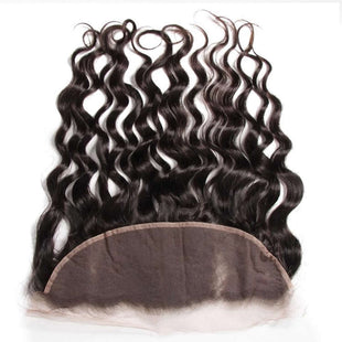 Vbena Peruvian Natural Wave Hair 4Bundles with Ear to Ear Lace Frontal Closure