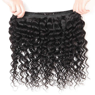 Vbena Hair Virgin Deep Wave Human Hair Weft 1Bundles Deals