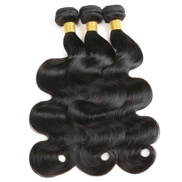 Vbena Indian Body Wave Human Virgin Hair Bundles 3pcs/pack